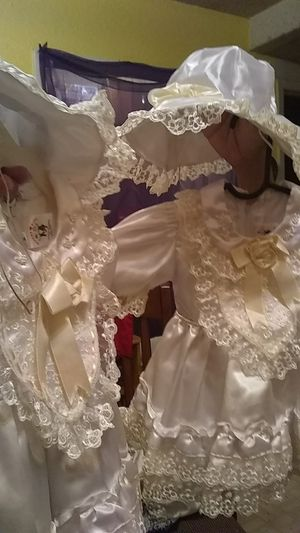 Baptismal dresses for Sale in San Antonio, TX
