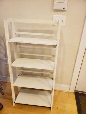 White Bookshelf for Sale in Washington, DC