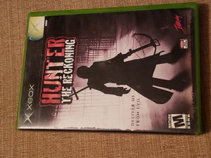 Hunter: The Reckoning (Microsoft Xbox, 2002)  Includes the manual for Sale in Chambersburg, PA