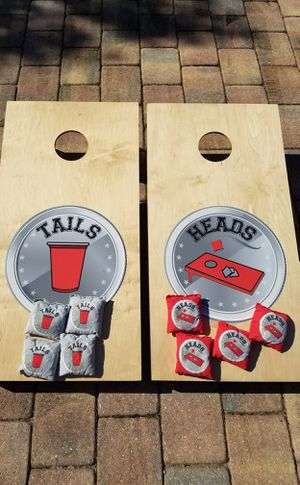 New! Cornhole lawn game set corn hole for Sale in Southwest Ranches, FL