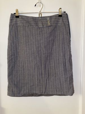 Grey stripe pencil skirt for Sale in Arlington, VA