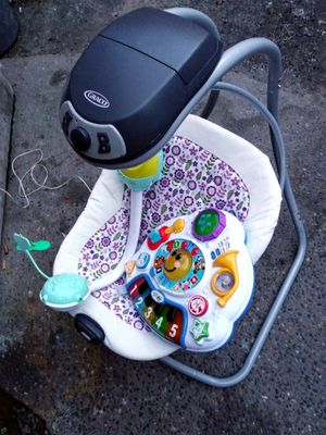 Baby swing, toy and crib music device for Sale in St. Louis, MO