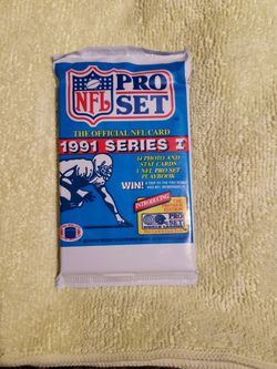 Vintage 1991 NFL Pro Set Series 1 Pack $1 Each for Sale in Maple Valley,  WA