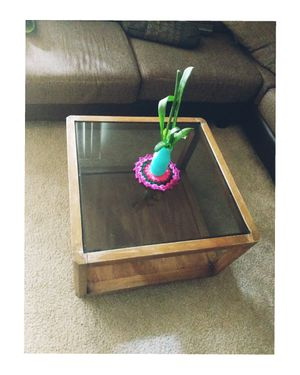 Beautiful Black Glass coffee table for $25 for Sale in Fremont, CA