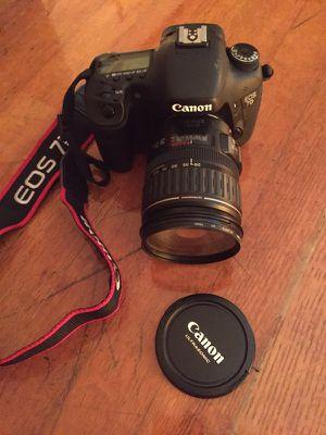 Camera Canon EOS 7D for Sale in Miami Beach, FL