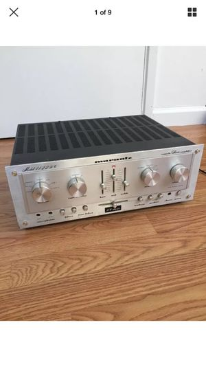 RARE MARANTZ VINTAGE ANALOG STEREO AMPLIFIER 1122 DC MADE IN JAPAN for Sale in San Jose, CA