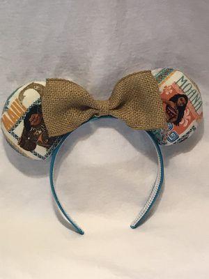 Moana and Maui Mickey ears for Sale in Richmond, CA