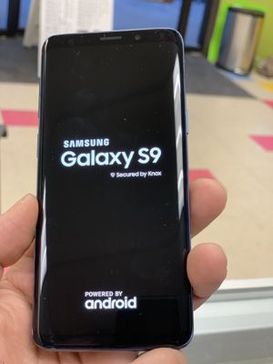 Samsung galaxy s9 plus unlocked, sold with receipt and store warranty for Sale in Somerville, MA