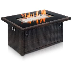 Outland Living Series 401 Brown 44-Inch Outdoor Propane Gas Fire Pit Table for Sale in Washington, DC