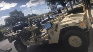 Military Hummer H1 Humvee Army truck Diesel auto 4x4 44k miles $10,000 for Sale in Winter Haven, FL