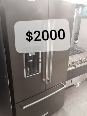 🔥🔥KITCHENAID REFRIGERATOR, FRENCH DOOR, STAINLESS STEEL $2000🔥🔥 for Sale in Los Angeles, CA