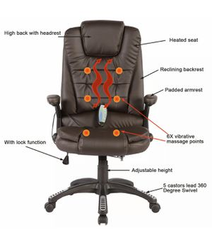 Brand new brown massage chair computer chair office chair desk chair $100 each for Sale in Orlando, FL