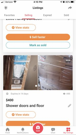 Shower doors and floor for Sale in Landover, MD