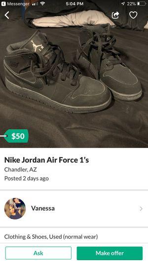 Nike Air Force 1 Jordans for Sale in Chandler, AZ