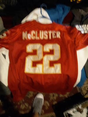 Authentic McCluster jerseys signed by him for Sale in Saint Joseph, MO