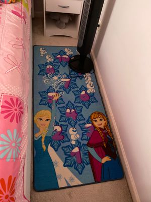 Elsa Anna rug for $15 for Sale in Herndon, VA