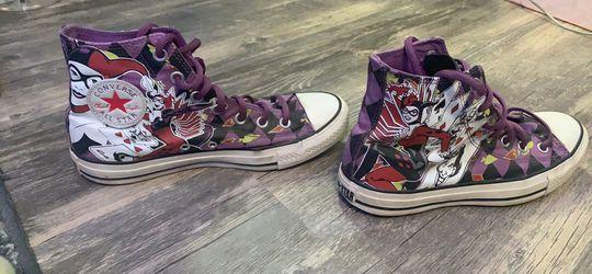 Harley Quinn Converse for Sale in Murfreesboro,  TN