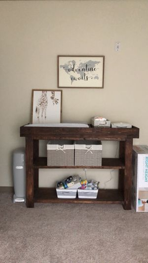 Changing Table with cushion for Sale in San Antonio, TX