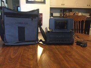 "Vintage Audiovox Portable VCR With Case - 4"" LCD Monitor for Sale in Washington, IL"