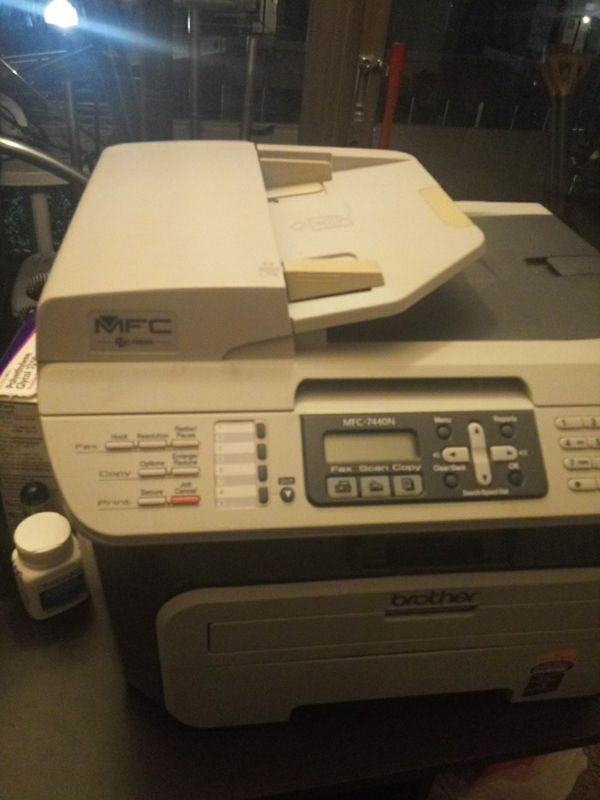 Vendo printadora y faxiadora