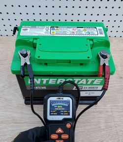 Car Battery Group Size 47/H5 Interstate (2018)- $50 With Core Exchange/ Bateria Para Carro Tamaño 47/H5 Interstate (2019) for Sale in South Gate,  CA