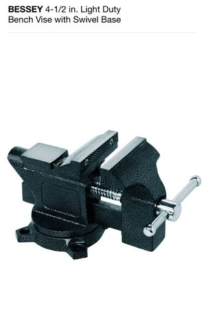 Bench vise with swivel base with lockdown for Sale in Long Beach, CA