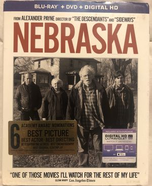 Nebraska Blu Ray, DVD, & Digital Copy for Sale in Hacienda Heights, CA