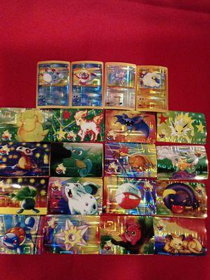 20 Pokemon Collectable Sticker Cards for Sale in Pico Rivera, CA