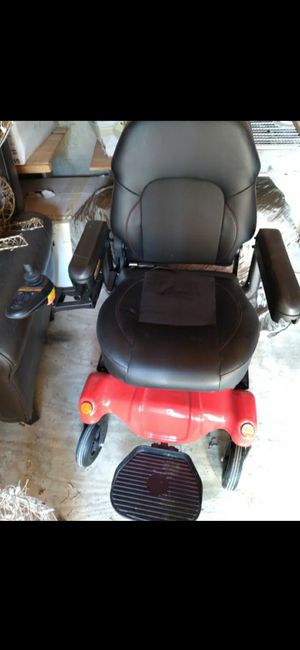 Merits Health Products P31231WRMA Power Wheelchair - Dualer44 Red for Sale in Cypress, TX
