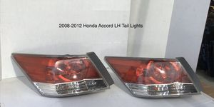 2008-2012 Honda Accord Driver Side Tail Lights for Sale in Jurupa Valley, CA