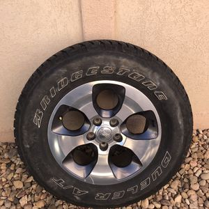 5 Wheels and Tires For Jeep Wrangler for Sale in Sheridan, CO