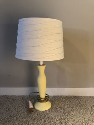 Cute shabby chic lamp with shade for Sale in Denver, CO