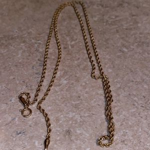 10k Gold Rope Necklace for Sale in Tacoma, WA