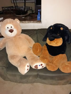 2 giant teddy bears for Sale in Forest Lake, MN