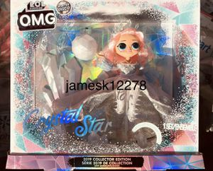 IN HAND LOL Surprise! OMG Crystal Star 2019 Collector Edition Winter Disco for Sale in Joliet, IL