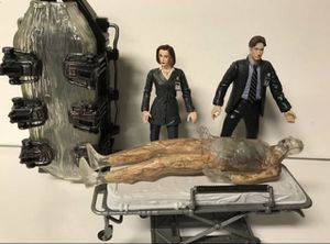 The X-Files Series 1 Action Figures Agent Dana Scully Fox Mulder 1998 McFarlane Toys for Sale in Kirkland, WA