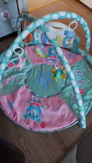 Baby Play Gym Mat Newborn Infant Fun Toys Activity Playmat With Play Piano for Sale in North Chesterfield, VA