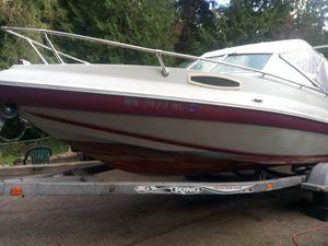 1990 18 foot seaswirl boat 120 Johnson outboard 2002 trailer for Sale in Edmonds, WA