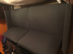 Black/grey click couch for Sale in Nashville, TN
