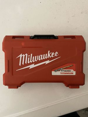 Milwaukee drill bits for Sale in Mission Viejo, CA