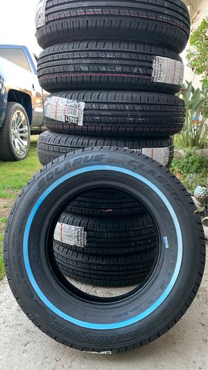 155/80R13 white wall tires for Sale in Clovis, CA