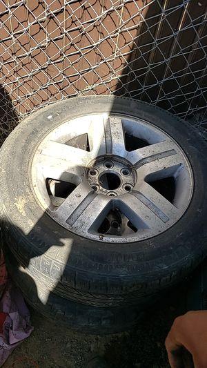 Chevy Silverado 20's original tires/rims for Sale in Elk Grove, CA