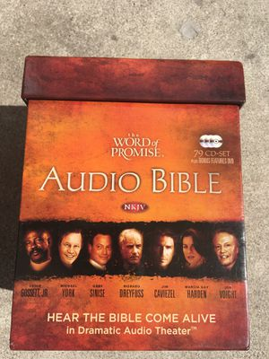 Audio Bible The Word of Promise 79 CD Set for Sale in Fremont, CA