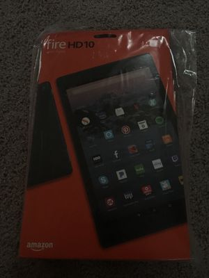 Kindle hd 10 32 gb black for Sale in Seattle, WA
