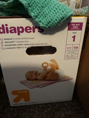 Up&up Diapers Size 1 for Sale in Spanaway, WA