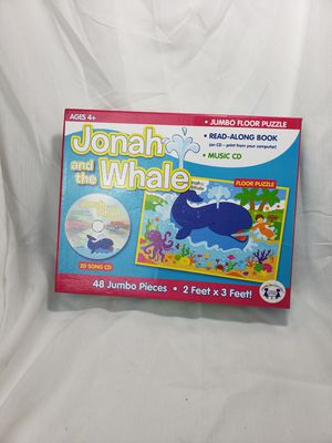 Johna and the whale floor puzzle & cd for Sale in Zanesville, OH