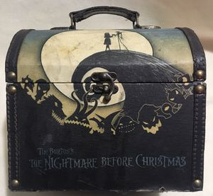Nightmare Before Christmas Jack & Sally Hilltop Vintage Stash Box for Sale in Aurora, CO