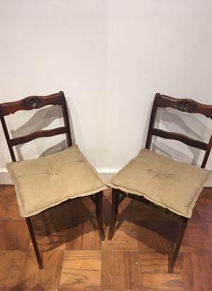 2 Wooden Chairs for Sale in Washington, DC