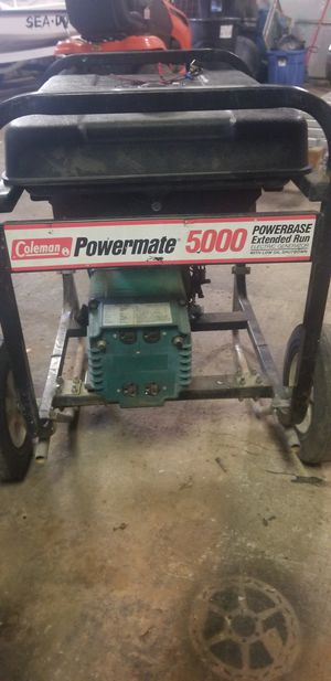 5000 watt generator (READ DESCRIPTION) for Sale in Nashville, TN