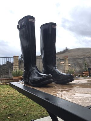 Hunter women's size 7 rain boots for Sale in Chino Hills, CA